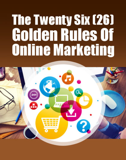 26 Rules of online marketing