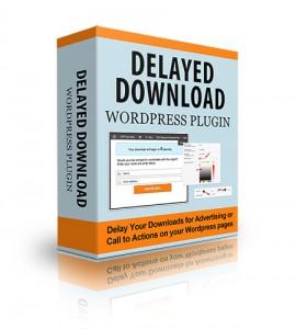 Delayed Download WP Plugin