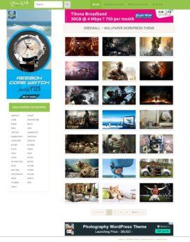 Premium Wallpaper Wordpress Theme V1