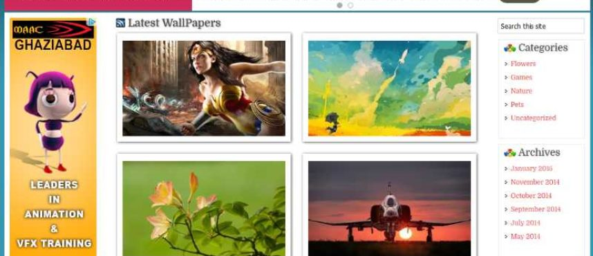 Premium Wallpaper Wordpress Theme V2 - Ebooklancer.com | Digital ...