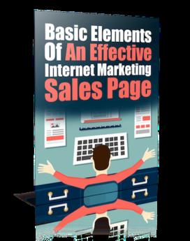 Effective Internet Marketing Sales Page - PLR