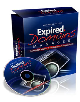 Expired Domains Manager