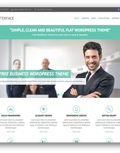 Wordpress premium business theme v3 best wordpress themes wordpress premium business theme v3 accmission Choice Image