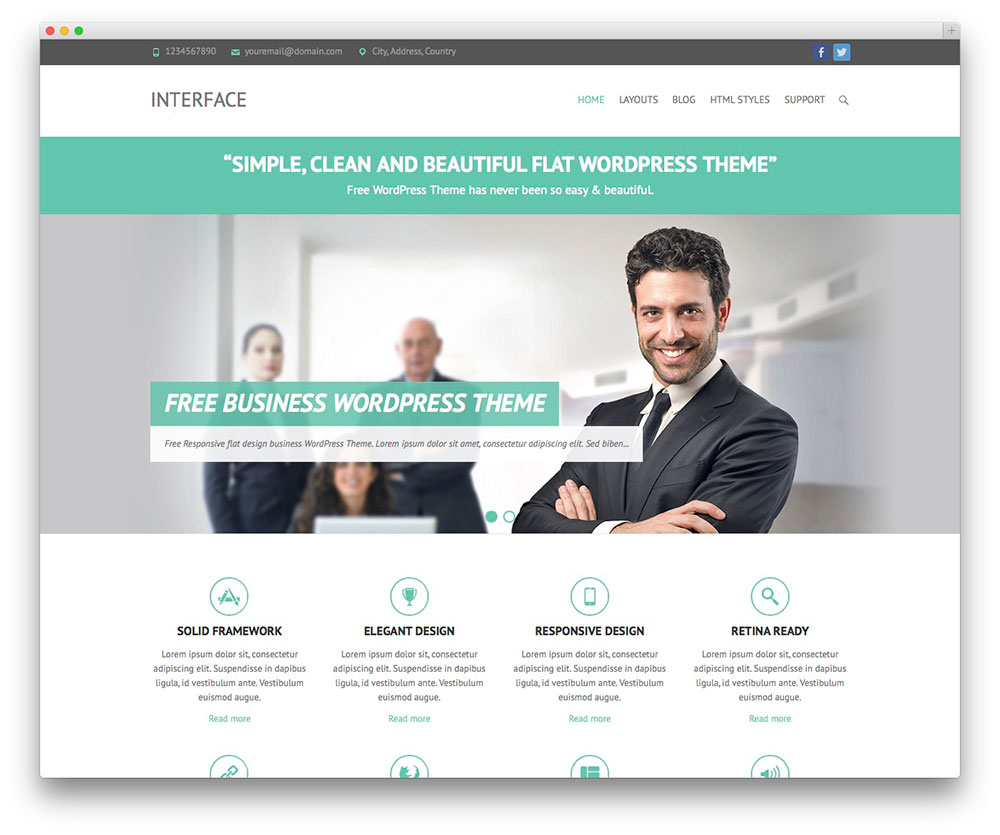 Wordpress premium business theme v3 best wordpress themes wordpress premium business theme v3 wajeb Gallery