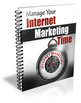 Manage Your Internet Marketing Time PLR Newsletter