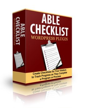 Able Checklist WP Plugin