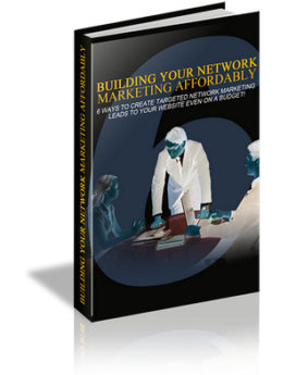 building your network marketin