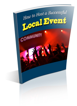 how to host a successful local