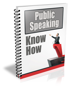 Public Speaking Know How PLR Newsletter