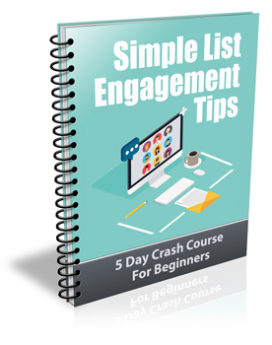 Simple List Engagement Tips PLR Newsletter
