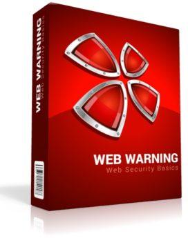 web warning