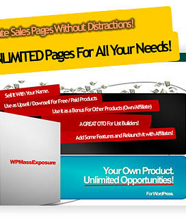 WP QuickSales Page