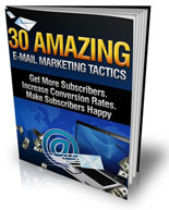 30 Amazing E-mail Marketing Tactics