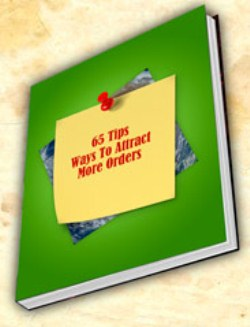 65 ways to attract more orders
