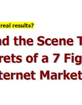 7 figure internet marketing