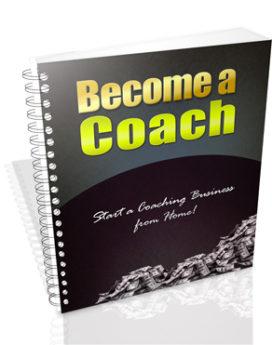 become a coach - plr