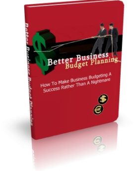 better business budget plannining