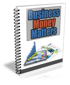 Business Money Matters PLR Newsletter