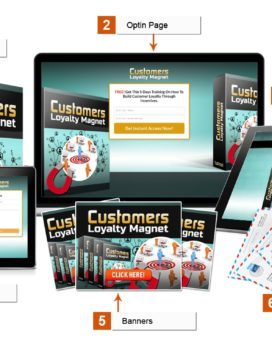 Customer Loyalty Magnet - PLR