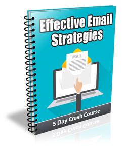 Effective Email Strategies PLR Newsletter