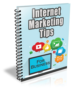 Internet Marketing Tips PLR Newsletter