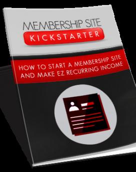 Membership Site Kickstarter