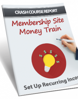 Membership Site Money Train