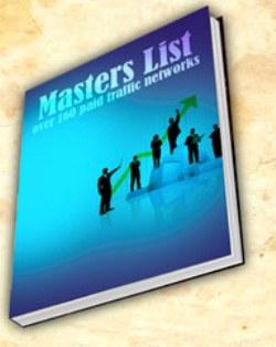 paid traffic master list