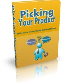 picking your product