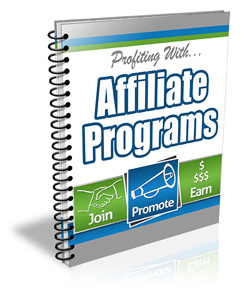 Profiting With Affiliate Programs - PLR Newsletter