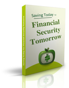 Start Saving Today for Financial Security Tomorrow - PLR