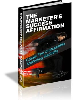 the marketers success affirmat