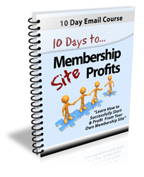 10 Days Membership Profits - PLR