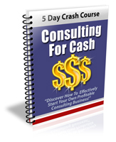 Consulting For Cash - PLR