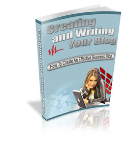 creating and writing blog