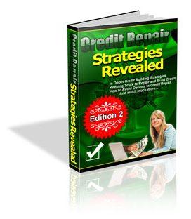 Credit Repair Strategies Revealed - PLR