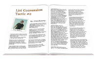 List Conversion Tactics