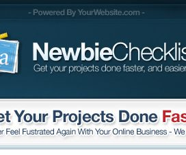 Newbie Checklist - Resell Rights
