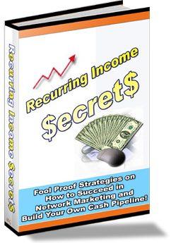 Recurring Income Secrets - PLR
