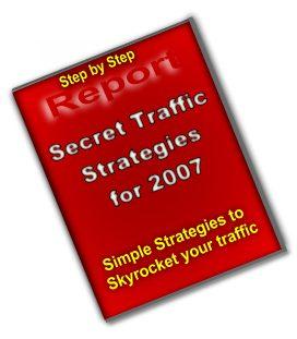 Secret Traffic Strategies For 2007 - PLR