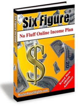 The No Fluff Six Figure Online Income Plan