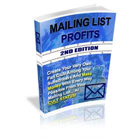 Mailing List Profits