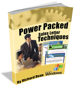 Power Packed Sales Letter Techniques