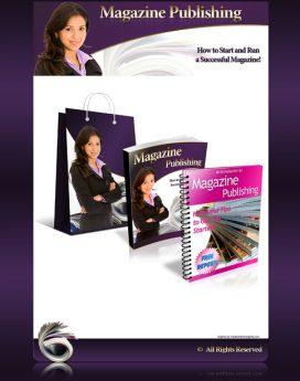 magazine publishing minisite