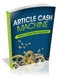 article cash machine - plr