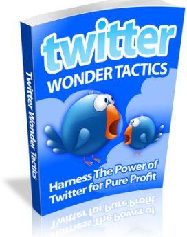 twitter wonder tactics - plr