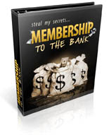 membership to the bank - plr
